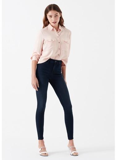 Mavi Tess Gold Lux Move Tencel Jean Pantolon Lacivert